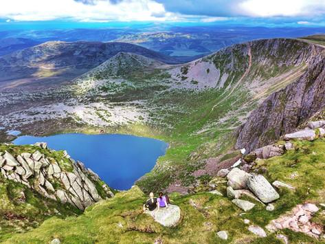 Scotland   Climbing Lochnagar