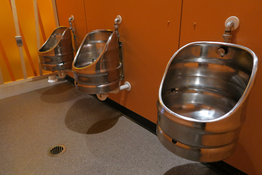 Monteith brewery - check out the urinals!!