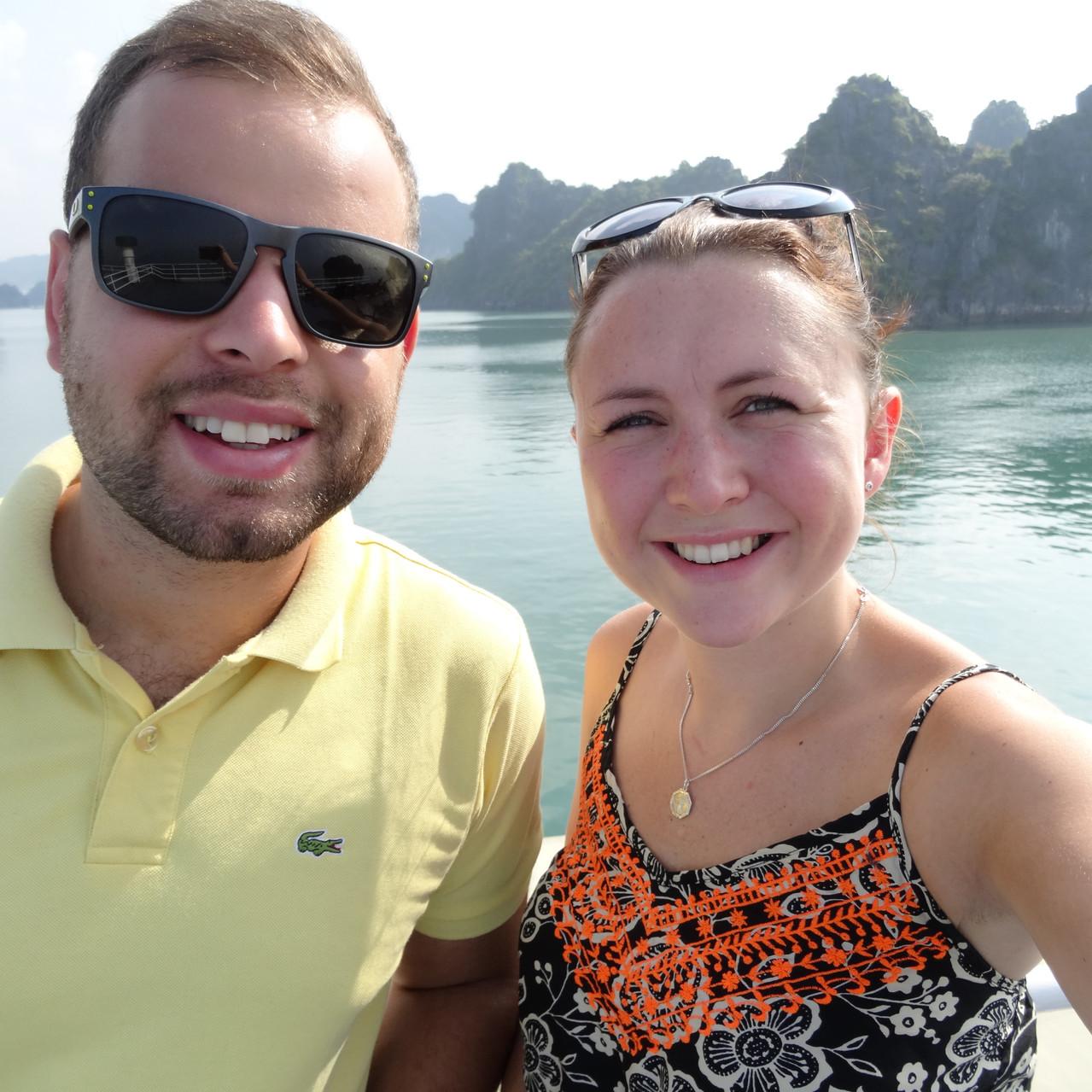 Cruising Halong Bay, Vietnam
