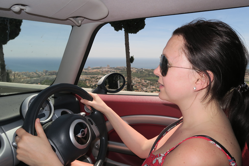 Driving back to Costa Del Sol