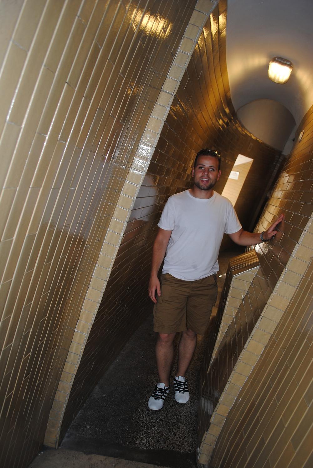 Climbing inside St Peter's Basilica