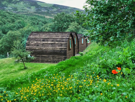 Cairngorms | Wooden Pod Glamping