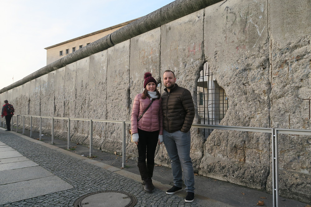 Berlin Wall at Prinz-Albrecht-Strasse