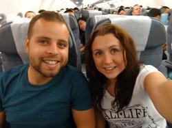 flying to Macau