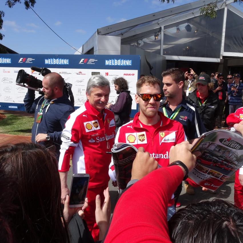 F1 drivers- Vettel