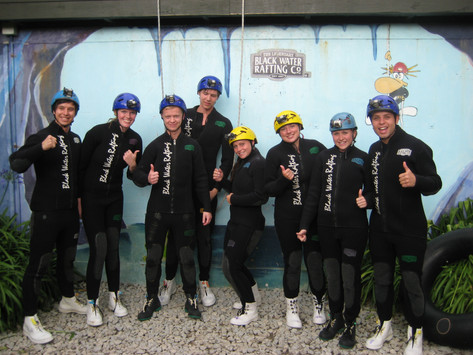 Waitomo NZ   Cave Tubing With Glow Worms