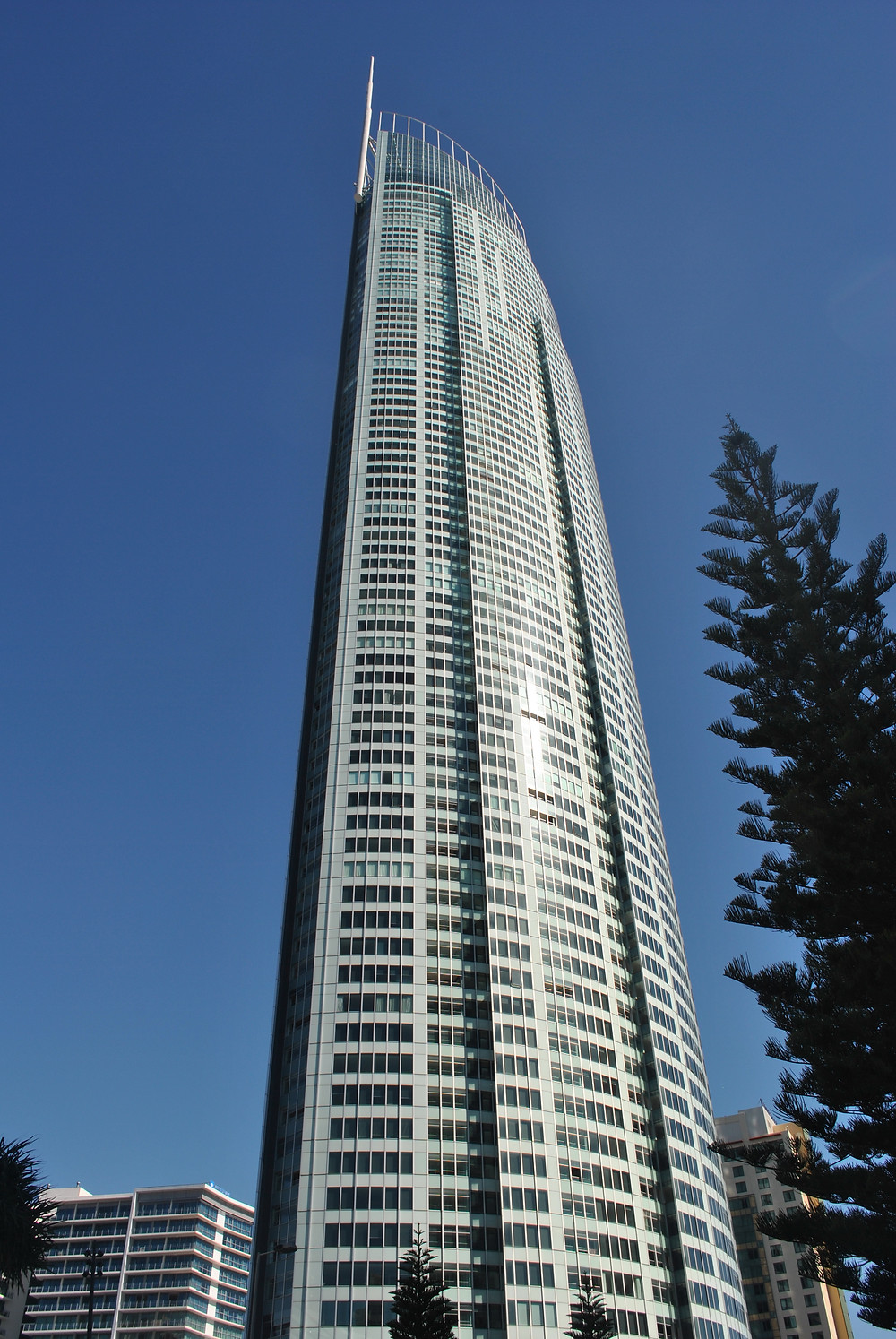 Trip to the Gold Coast. Q1 Tower