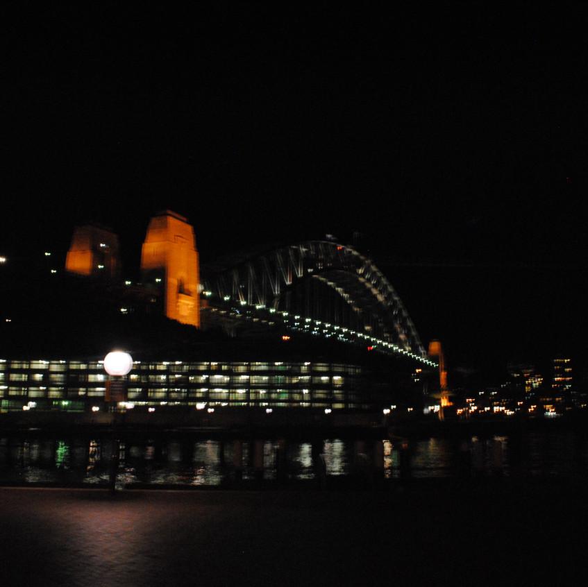 setting our eyes on harbour bridge
