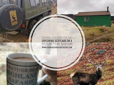Exploring Scotland On A Mountain Safari