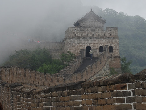 Climbing the Great Wall of China!!