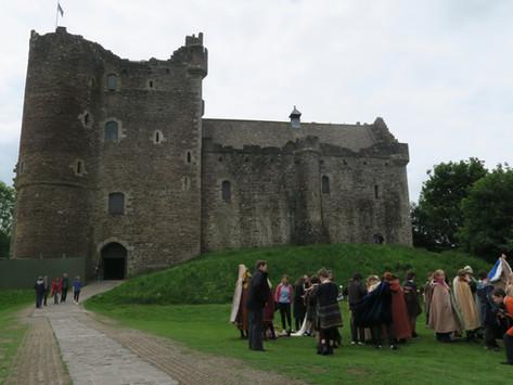 Outlander Locations   Doune Castle / Castle Leoch
