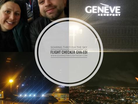 Flight Checker easyJet GVA- EDI