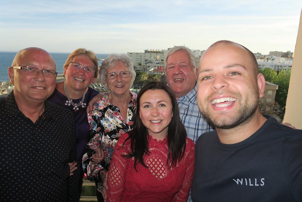 Costa Del Sol- Gran's 80th birthday meal