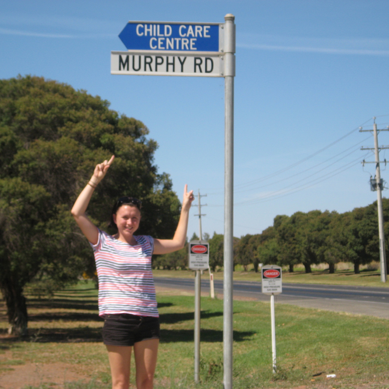 Griffith- my street sign (finally!)