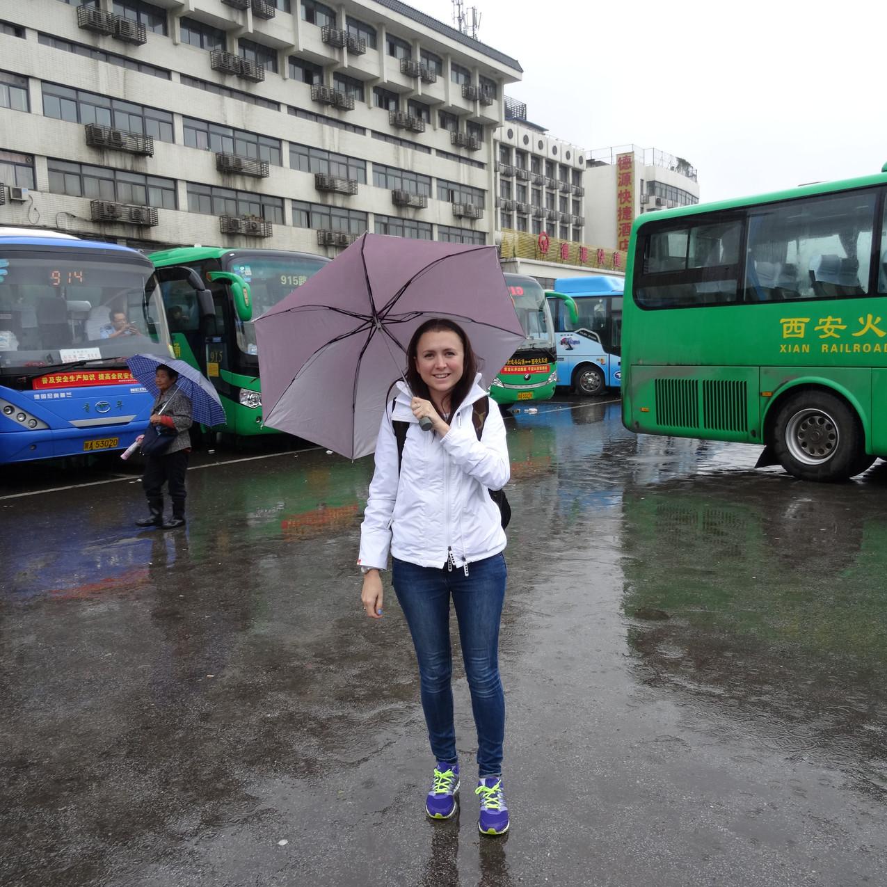 Xian bus station