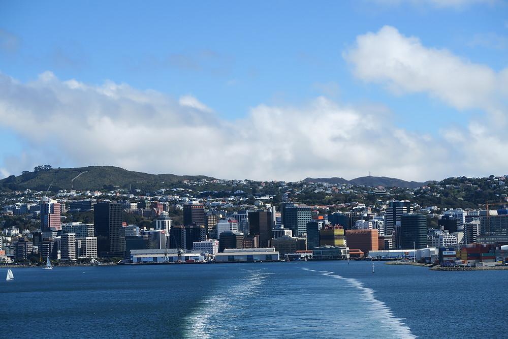 Leaving Wellington
