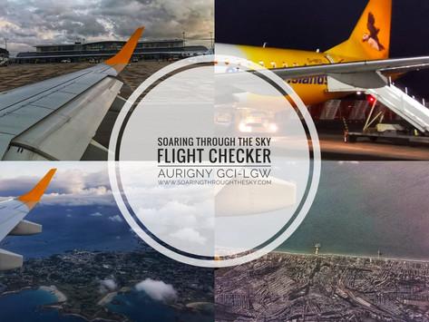 Flight Checker Aurigny GCI- LGW