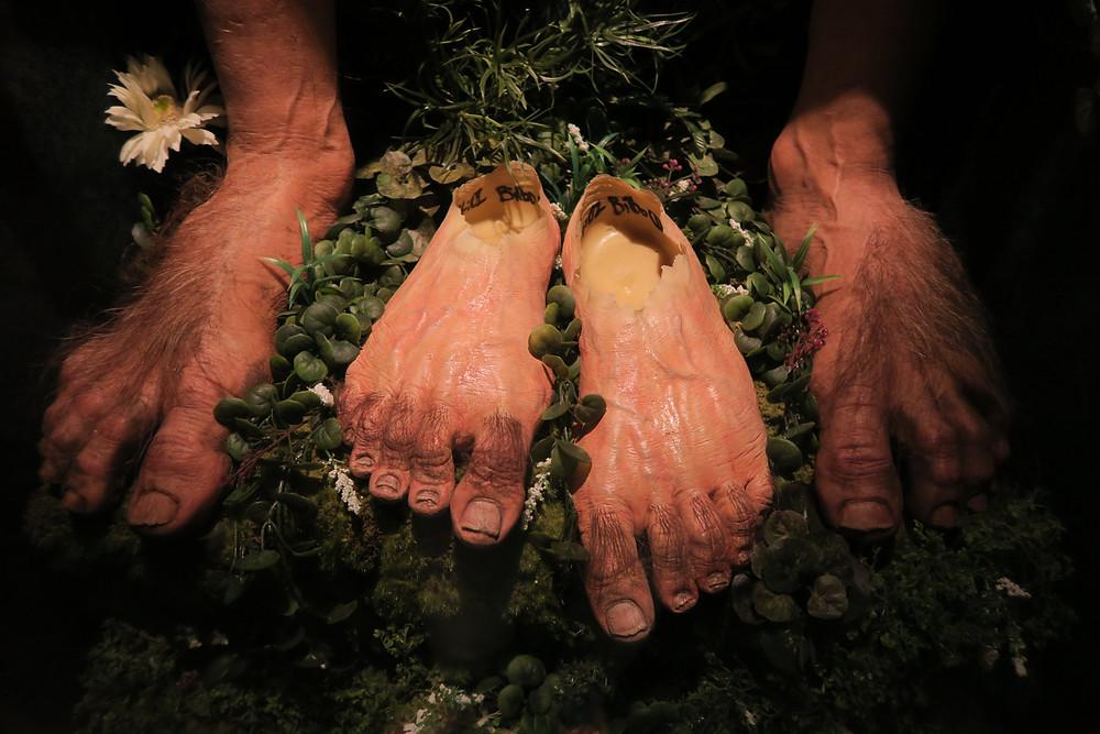 Weta Hobbit Feet