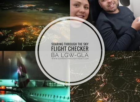 Flight Checker British Airways LGW- GLA