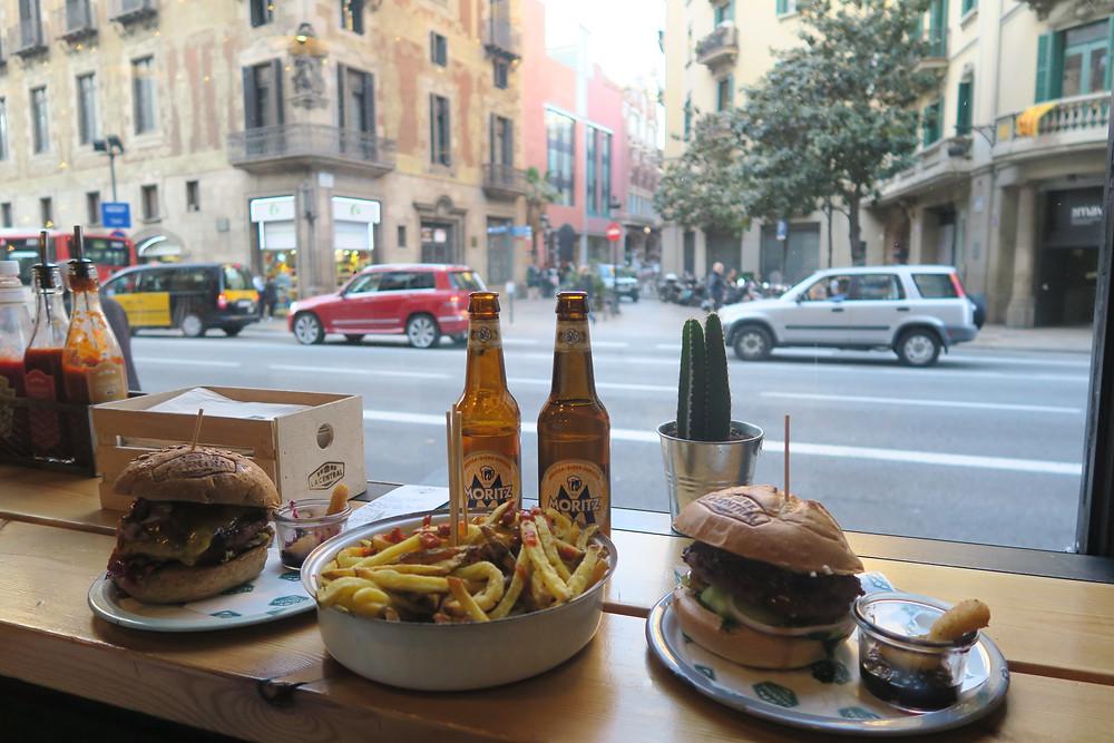La Central, burger bar