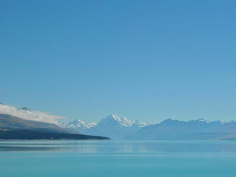 NZ day 19 Lake Tekapo, Christchurch. Our last day... Sweet As Bro