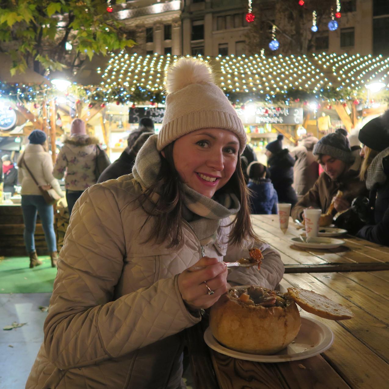 Vörösmarty square Christmas market