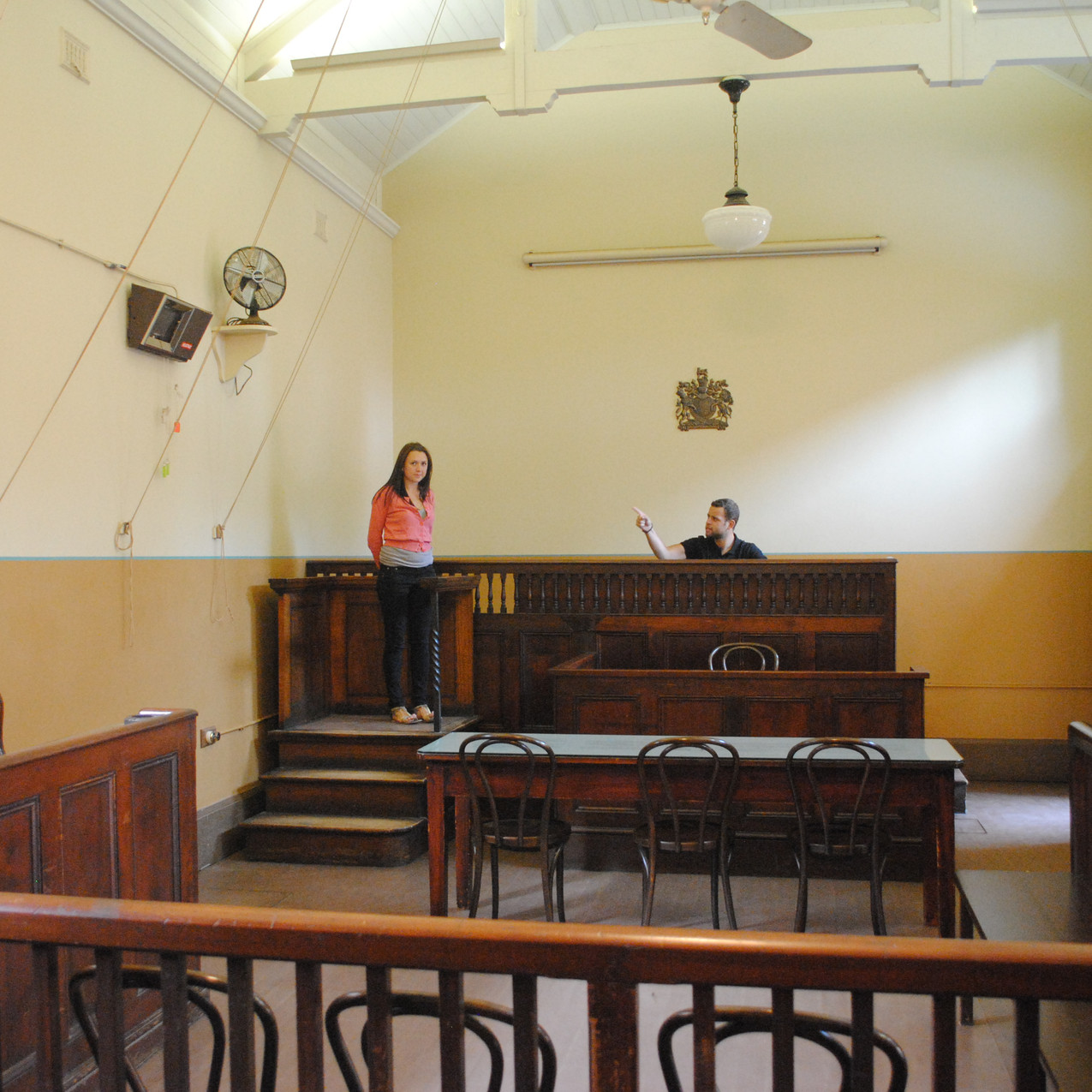 Hyde Park Barracks Museum-courthouse