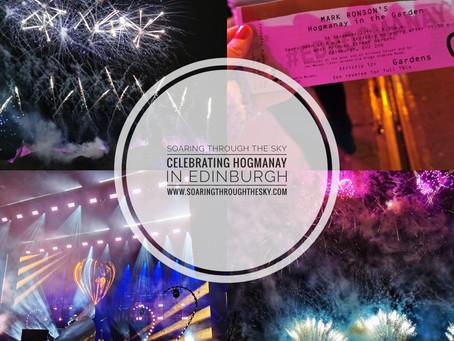 Celebrating Hogmanay In Edinburgh