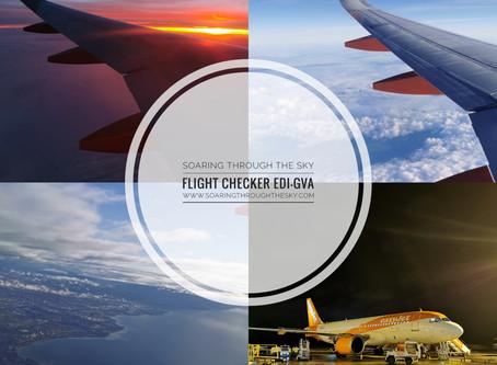 Flight Checker easyJet EDI - GVA