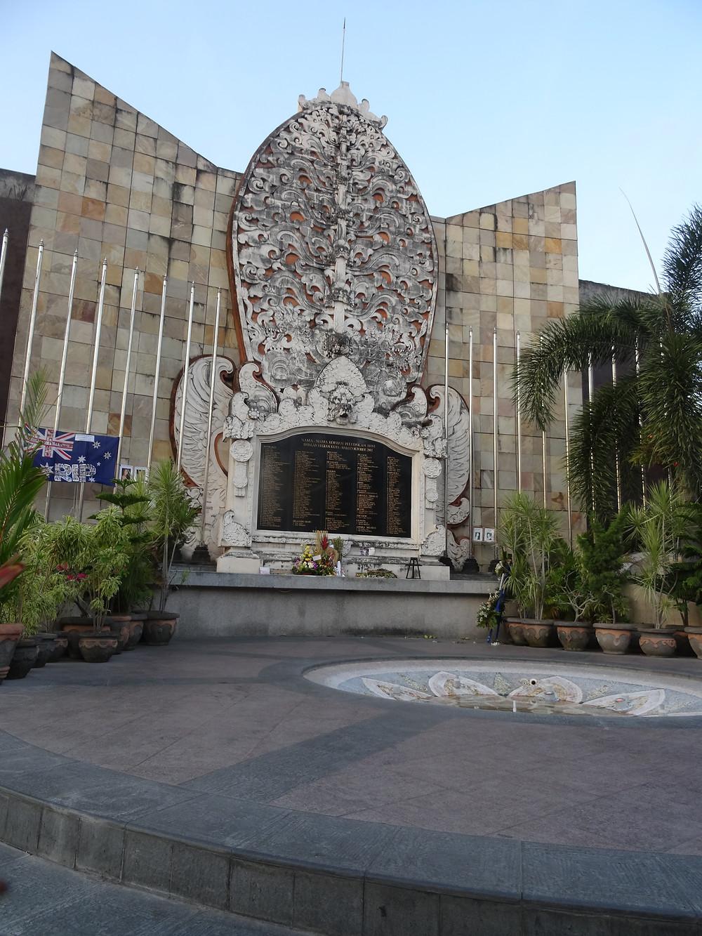 Bali bombing memorial, Kuta Bali