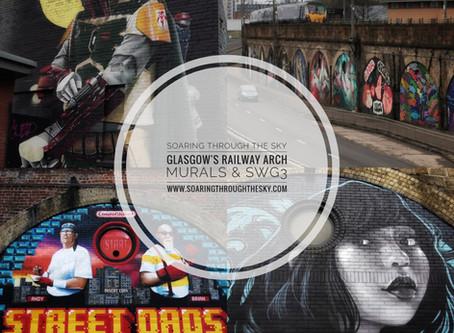Glasgow's Railway Arch Murals & SWG3