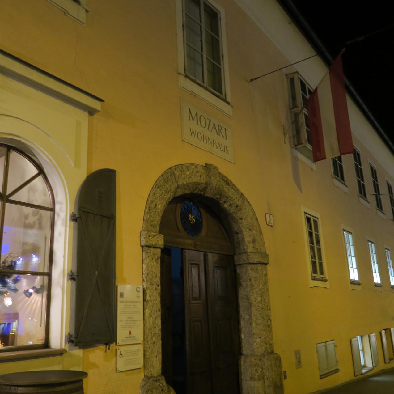 Salzburg- Mozart's house