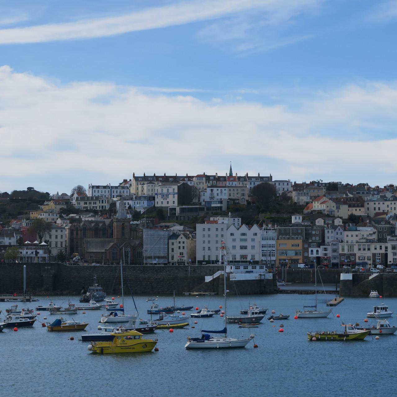Leaving Guernsey