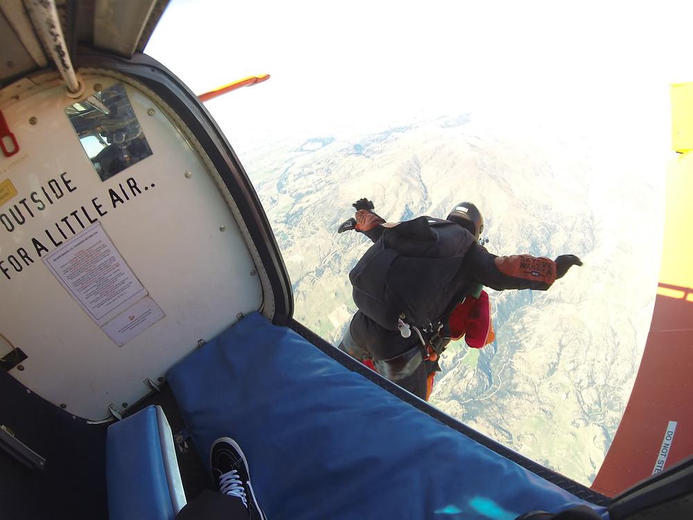 Goodbye Shannon- Skydive Wanaka