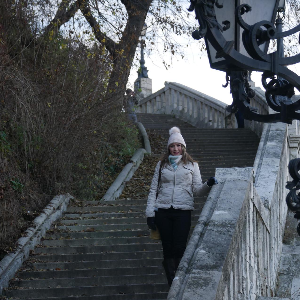 walking around Budapest