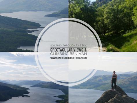 Spectacular Views & Climbing Ben A'an