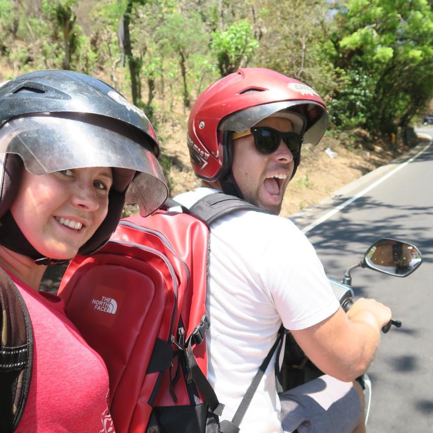 bike trip Bali