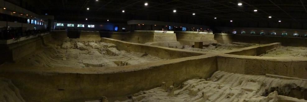 Terracotta Warriors- still being excavated