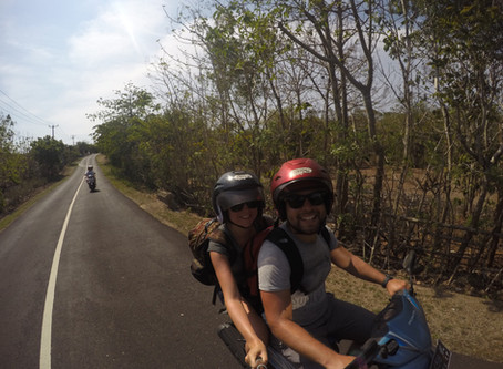 Bali - Tanah Lot to Uluwatu Bike Trip