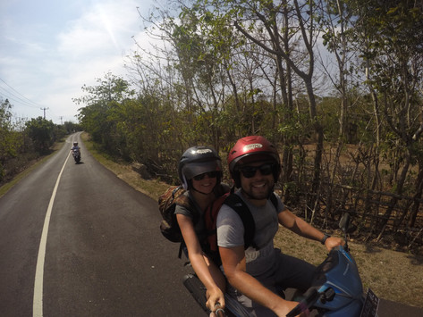 Bali - Tanah Lot to Uluwatu Bike Trip