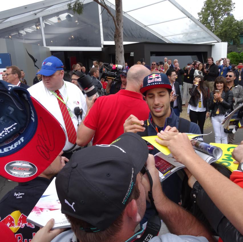 F1 drivers- Riccardo