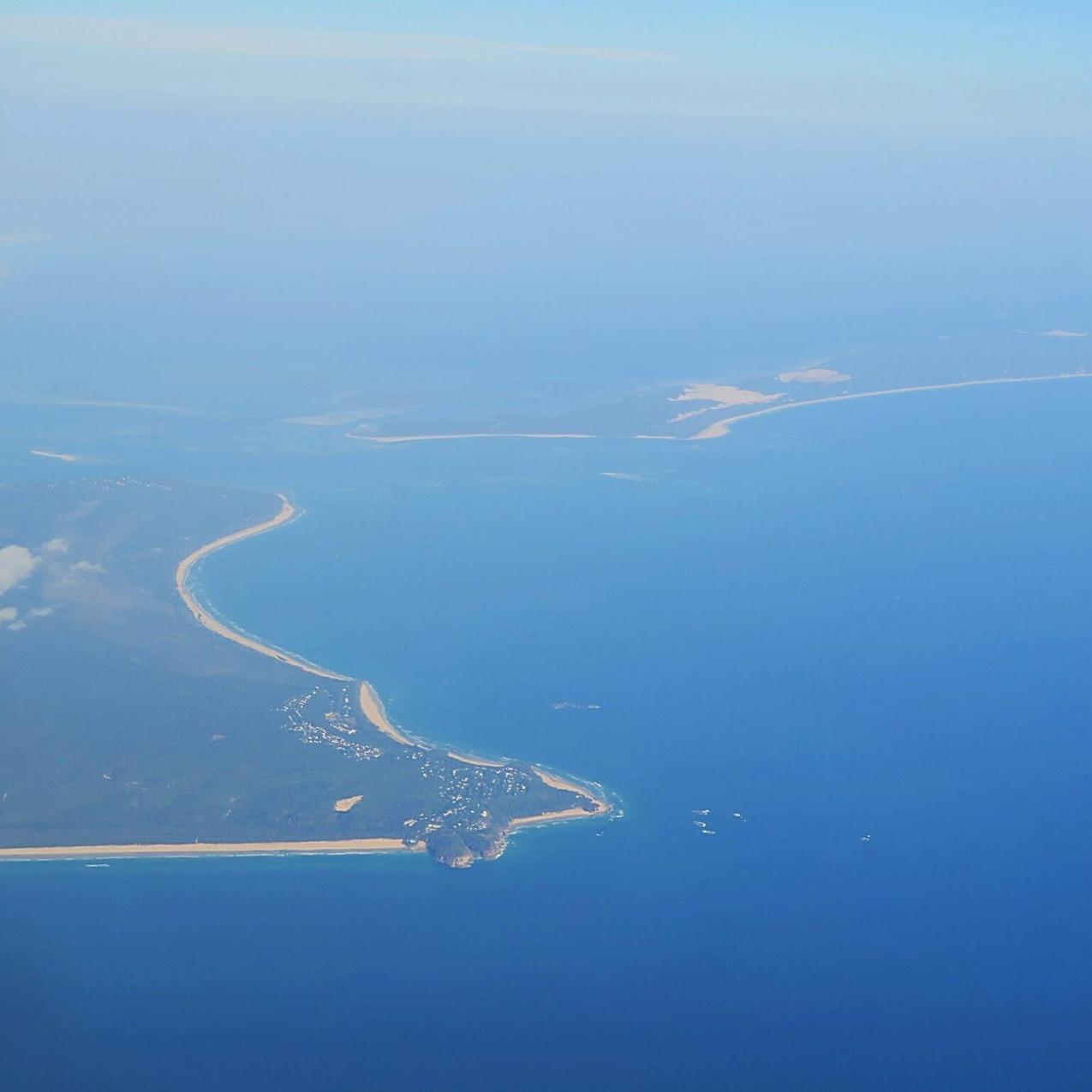 Somewhere gorgeous over Australia