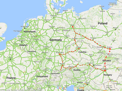 The Guide To A European Road Trip - In Winter
