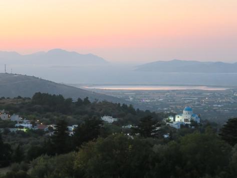 Zia- Sunset Over Greece