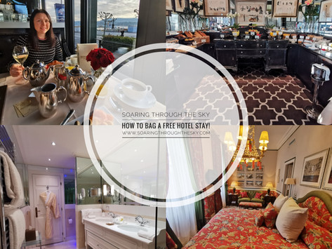 How To Bag A Free Hotel Stay!