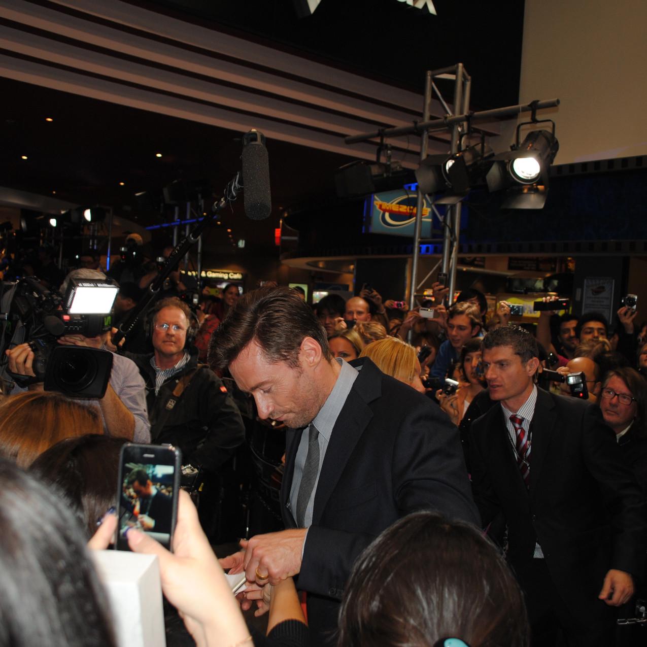 Meeting Hugh Jackman!!