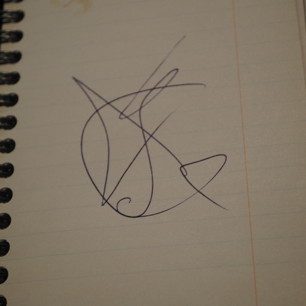 Hugh Jackman's autograph!!