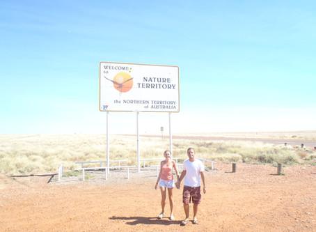 The long long drive from Queensland to the Northern Territory