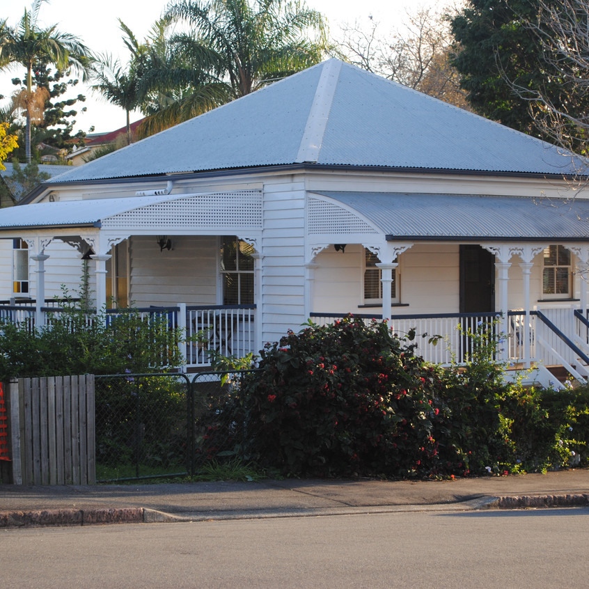 Typical Queensland houses