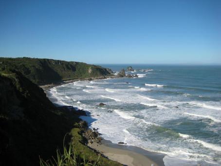 NZ day 14 Cape Foulwind, Punakaiki, Lake Mahinapua